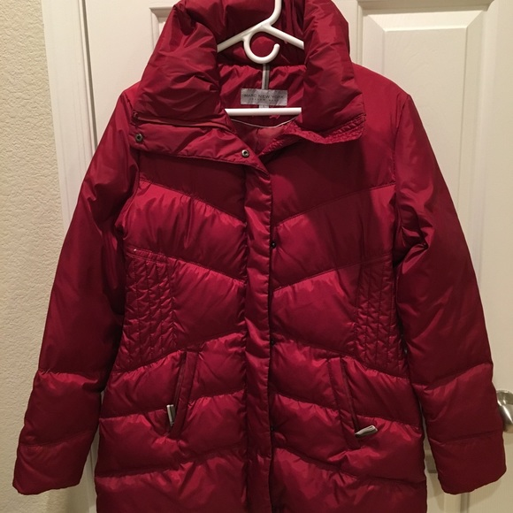 Marc New York Andrew Marc Jackets & Blazers - Red Puffer Coat
